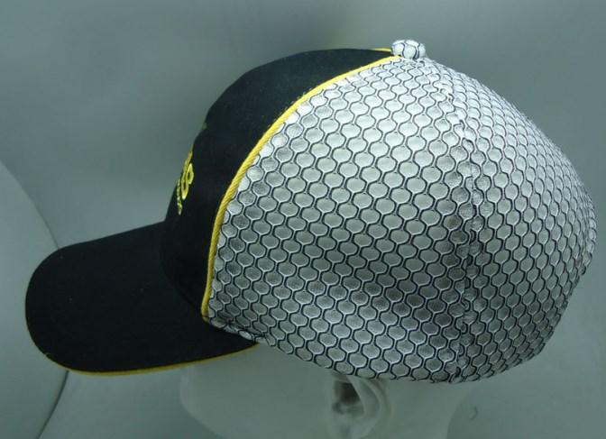 帽子用双色三明治网布
