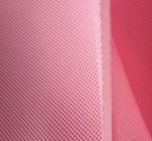 太仓粉红色加厚三明治网布
